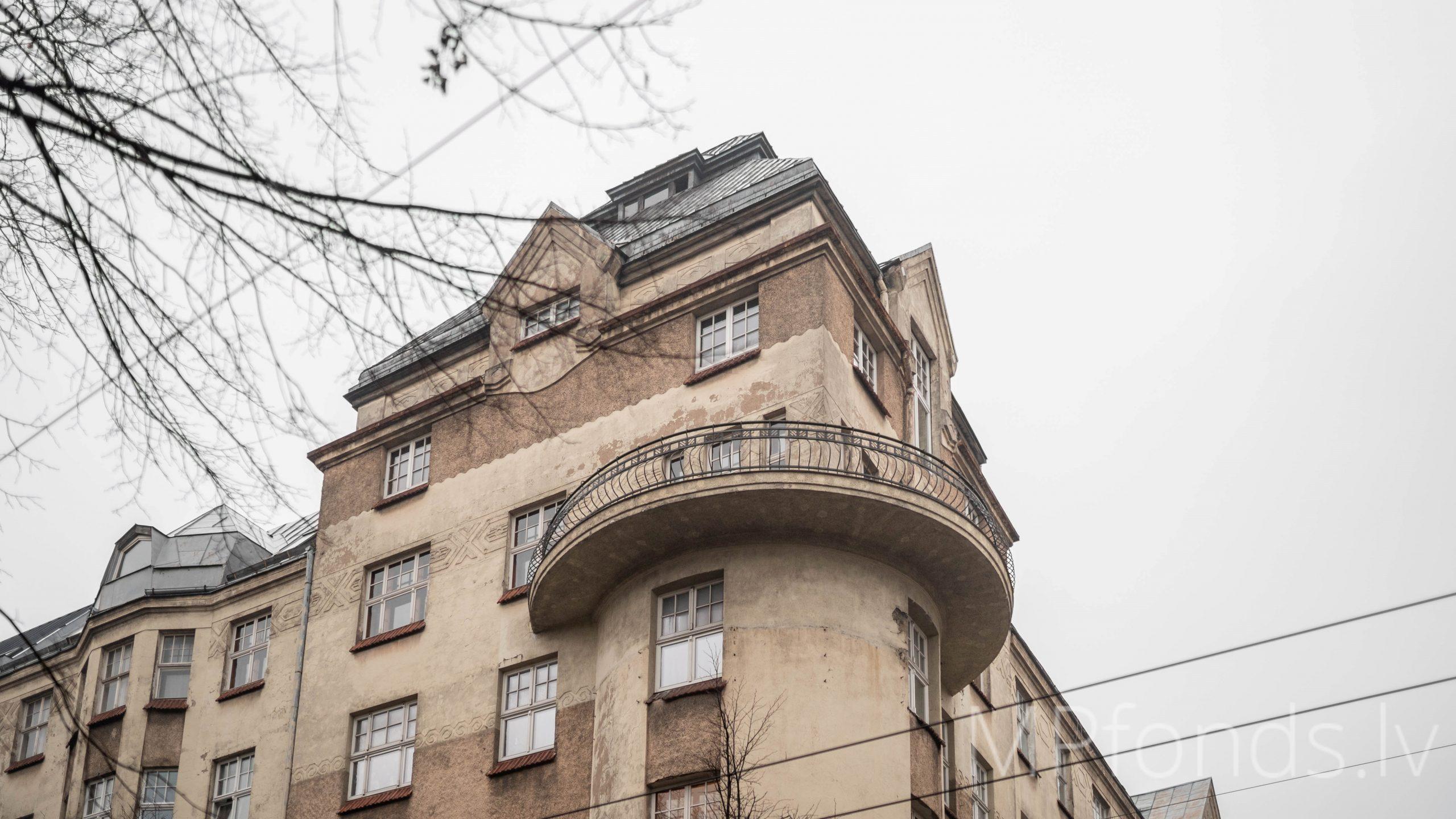 Pārdod, dzīvoklis ar skaistāko balkonu Valdemāra ielā, ar divām guļamistabām